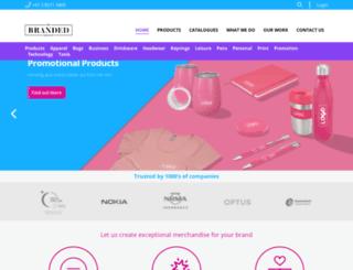 brandedpromotions.com.au screenshot