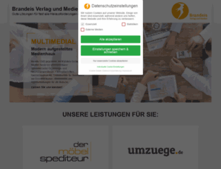 brandeisweb.de screenshot