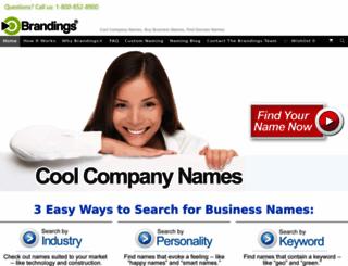 brandings.com screenshot