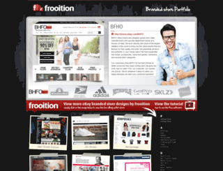 brands.frooition.com screenshot