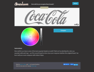 brandseenapp.com screenshot