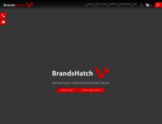 brandshatch.co.uk screenshot