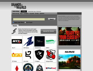 brandsoftheworld.com screenshot