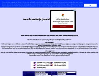 brandstofprijzen.nl screenshot