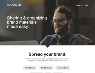 brandsuite.com screenshot