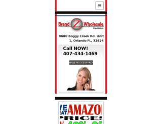 brandzwholesale.com screenshot