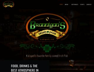 branniganspub.com screenshot