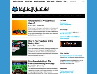 brashgames.co.uk screenshot