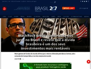 brasil247.com screenshot