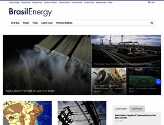 brasilenergy.editorabrasilenergia.com screenshot
