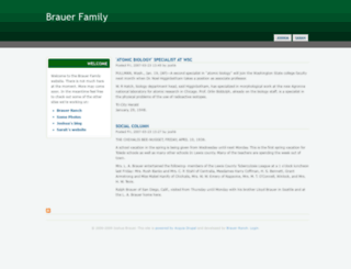 brauer.org screenshot