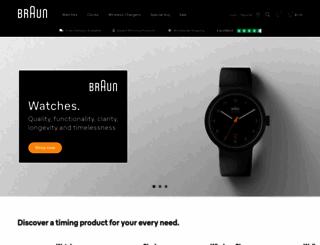 braun-clocks.com screenshot