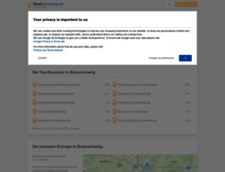 braunschweig.stadtbranchenbuch.com screenshot