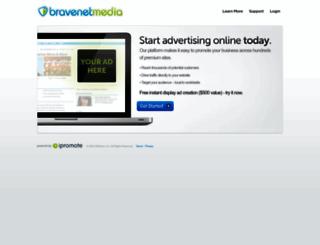 bravenet.ipromote.com screenshot