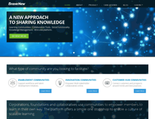 bravenew.com screenshot