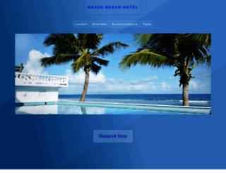 bravobeachhotel.com screenshot