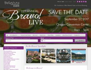 bravoevent.com screenshot