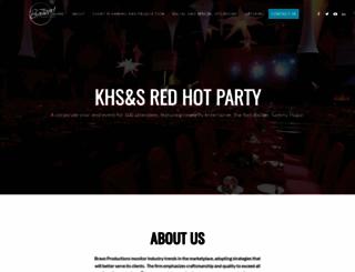 bravoevents-online.com screenshot