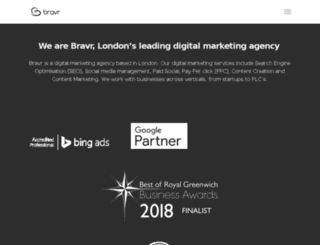 bravr.com screenshot