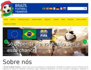 brazilfootballtransfer.com screenshot