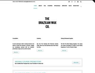 brazilianwax.com.my screenshot