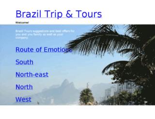 braziltripandtours.com screenshot