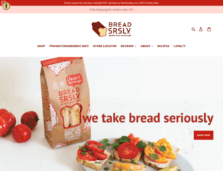 breadsrsly.com screenshot