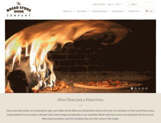 breadstoneovens.com screenshot