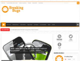 breakingbugs.com screenshot
