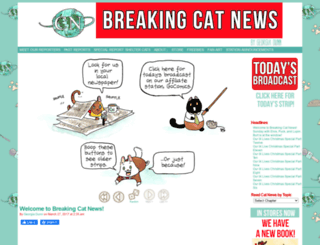 breakingcatnews.com screenshot