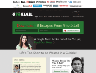 breakingthe9to5jail.com screenshot