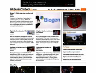 breakingviews.com screenshot
