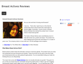 breast-actives-reviews.webs.com screenshot