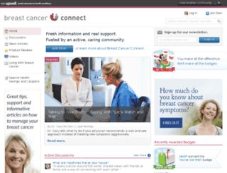 breastcancerconnect.com screenshot