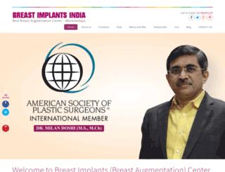 breastimplantsindia.com screenshot