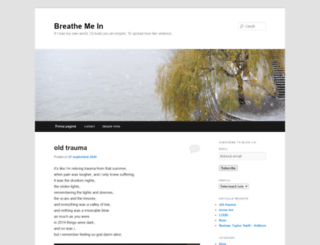 breathemein.net screenshot