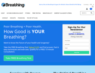 breathing.com screenshot