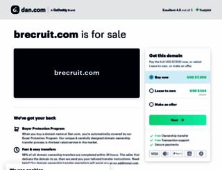 brecruit.com screenshot