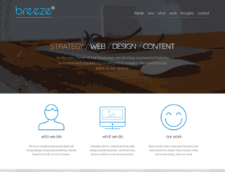 breeze-marketing.co.uk screenshot