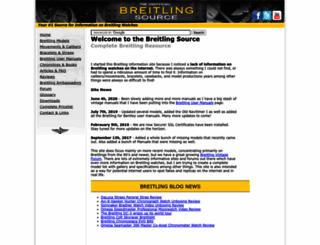 breitlingsource.com screenshot