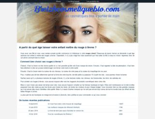 breizhcosmetiquebio.com screenshot