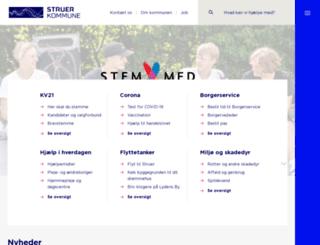 bremdal.struer.dk screenshot