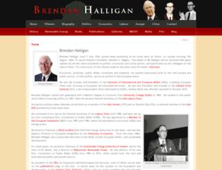 brendanhalligan.com screenshot