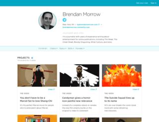 brendanmorrow.contently.com screenshot