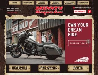 brennys.com screenshot