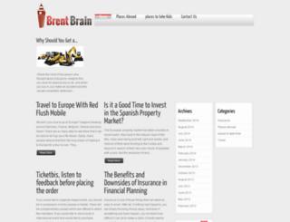 brentbrain.org.uk screenshot