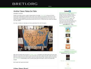 breti.org screenshot