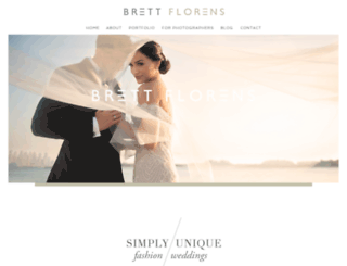 brettflorens.co.uk screenshot
