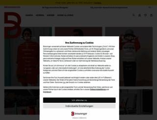 breuninger.com screenshot
