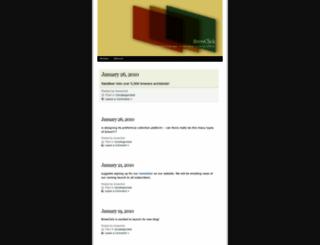 brewclick.wordpress.com screenshot